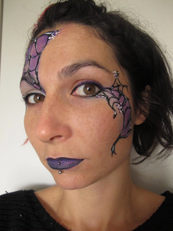 Uncategorized Spiderweb Face Paint spider web face paint tutorial coochiecrunch step 6 c alana dunlevy