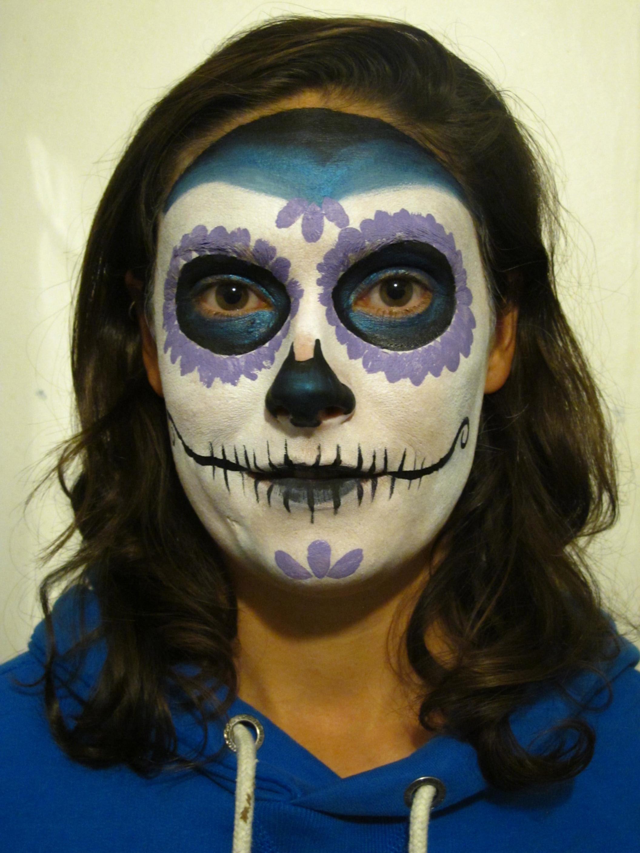 White Face Paint For Sugar Skull