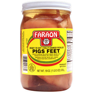 As a non-meat eater, I rather eat pickled pig's feet than another stuffed pepper - TL