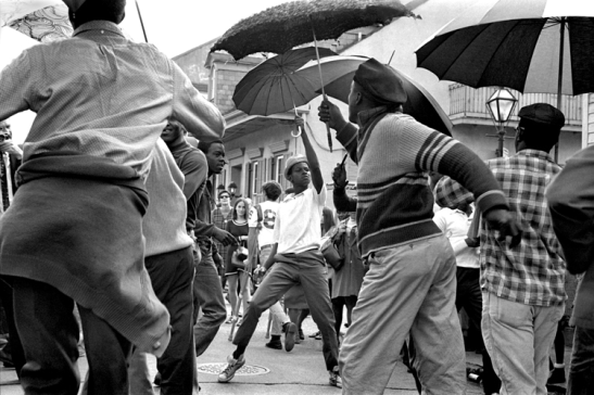 "Second-Line Alcide ""Slowdrag"" Pavageau's Jazz Funeral. New Orleans 1969"