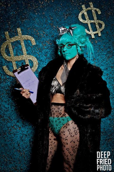 Blue Badass (c) Corinne Loperfido