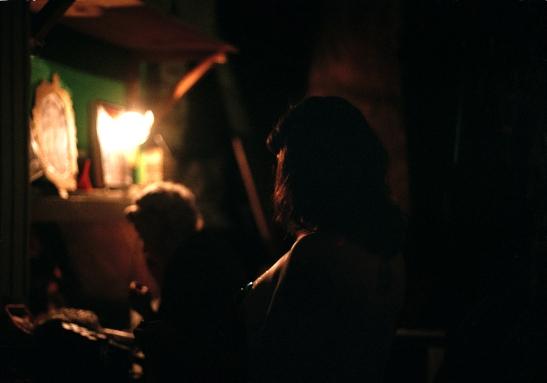 Lou Leigh Blue & Tuesday Laveau Backstage. (c) Clémentine Schneidermann