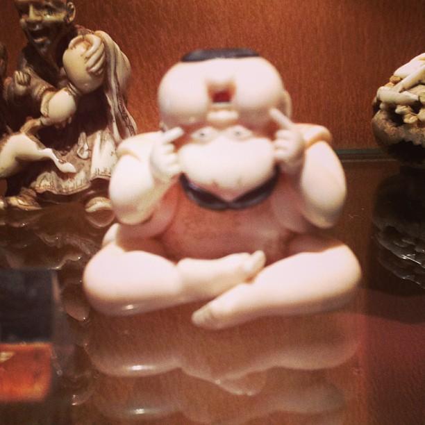 Tiny Chinese figure at Musée Georges Labit (c) Tuesday Laveau