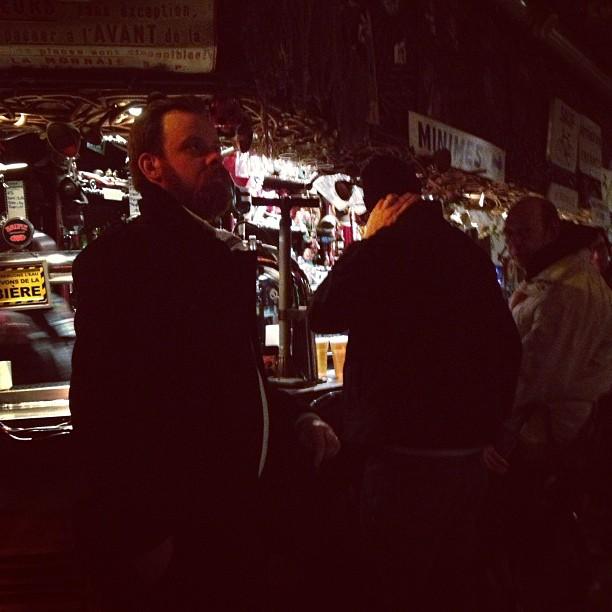 The bar at L'Autan, Toulouse (c) Tuesday Laveau