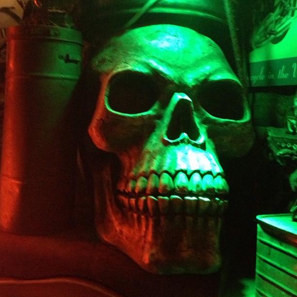 Skull at L'Autan, Toulouse