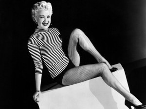 Betty Grable & Her Famous Gams