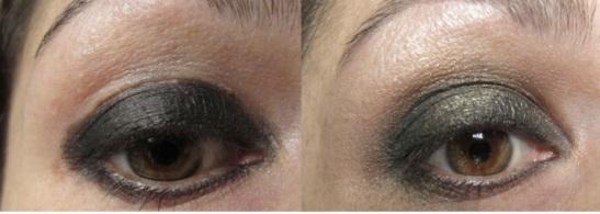Gold Smokey Eyes Step 1 (c) Alana Dunlevy