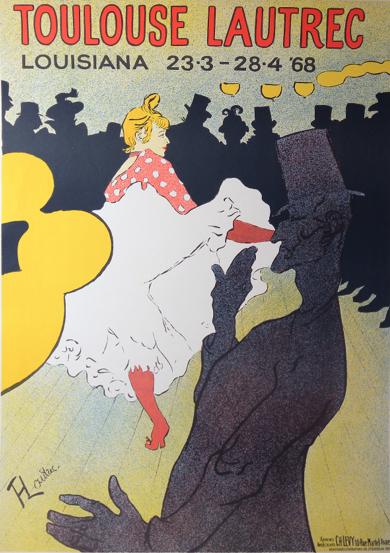 Toulouse Lautrec Cabaret Poster