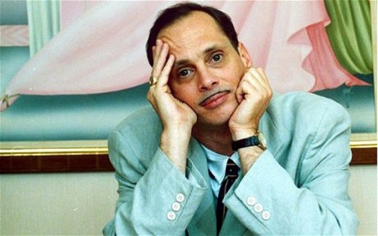 John Waters in Pastel