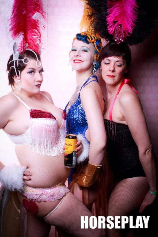 Ally Katte, Lou Leigh Blue & Delilah DisGrace (c) Jak Flash