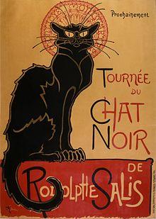Chat Noir Poster Art by Théophile-Alexandre Steinlen