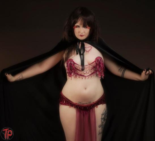 Daria D'Beauvoix as Lady Bathory (c) Twisted Pix