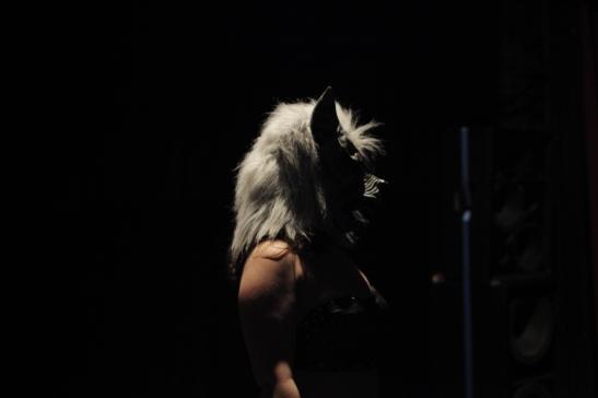 Tuesday Laveau as Loup Garou (c) Clementine Schneidermann
