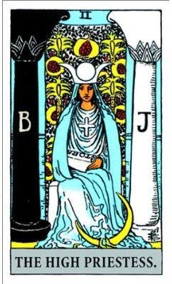 The High Priestess (Rider Waite)