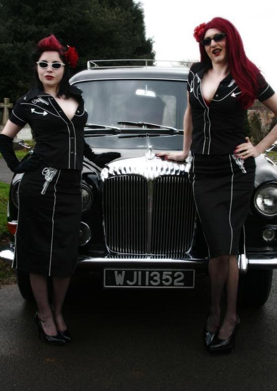 Poppy Von Tarte & Betty Bruiser