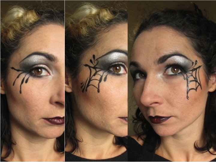 Morticia Addams Make-up Step 3 (c) Alana Dunlevy