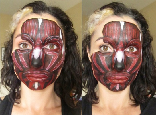 Skinless Face Step 2 (c) Alana Dunlevy