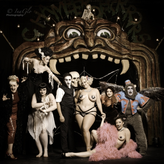Goldust Theatre Of Terror  Cast (c) InaGlo Photography