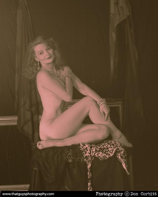 New Orleans Ziegfeld Show, featuring Kitty Twist (c) Don Corbett
