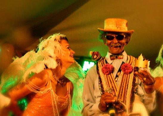 Uncle Lionel receives his lifetime acheivment award, Ascona Jazz Festival (c) Michael Dardant