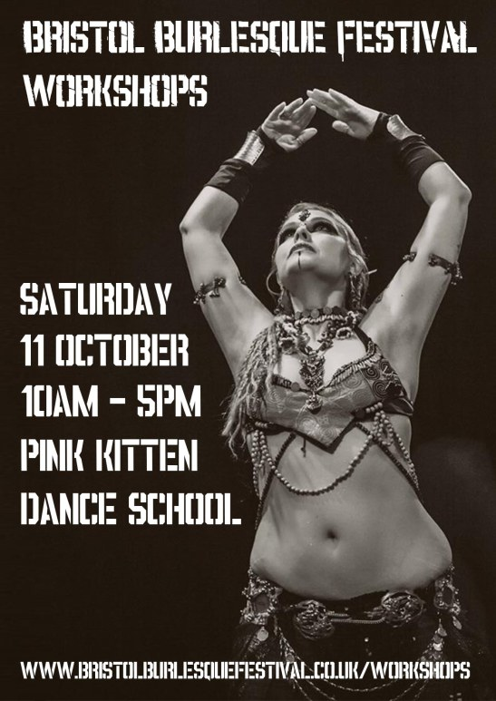 Workshops at Bristol Burlesque Festival 2014, 11 October at Pink Kitten Dance School