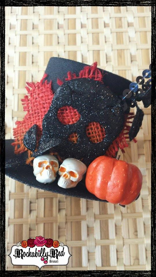 Skull Hat by Rockabilly Red https://www.etsy.com/shop/RockabillyRedBristol?ref=ss_profile