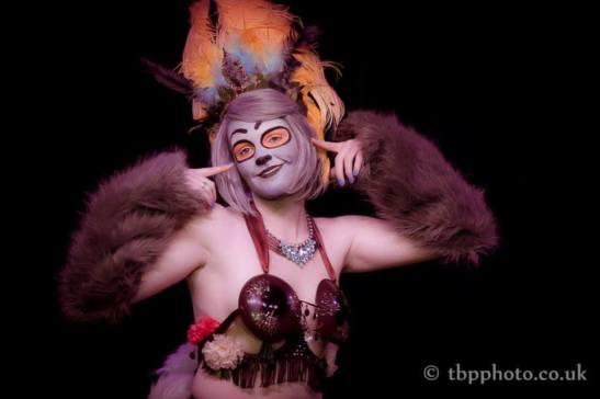 Teezy Overeazy at Bristol Burlesque Festival (c) TBP Photography