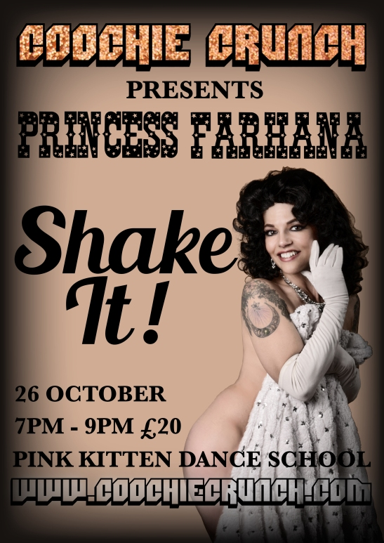 CoochieCrunch Presents: Princess Farhana SHAKE IT!
