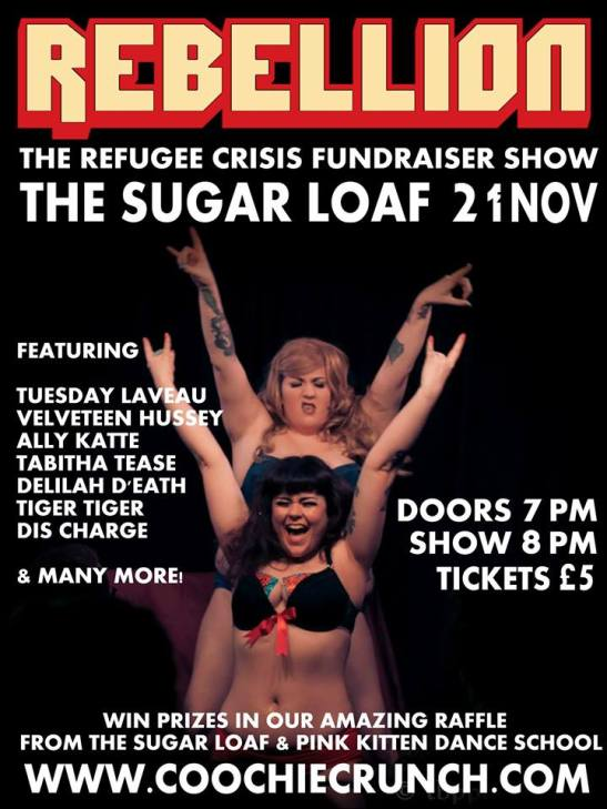 REBELLION - The Refugee Fundraiser Show