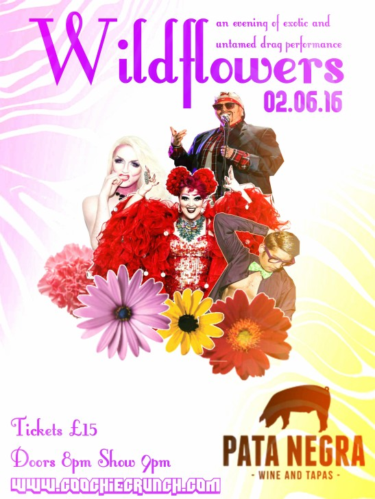 CoochieCrunch Presents: Wild Flowers 2 June 2016, Bristol UK