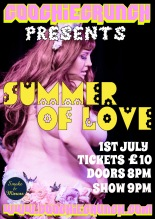 CoochieCrunch Presents: Summer of Love 1 July 2016 at Smoke & Mirrors, Bristol UK Image Courtesy of TBP Photography