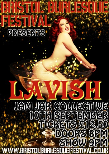 Bristol Burlesque Festival September 8-9-10 2016