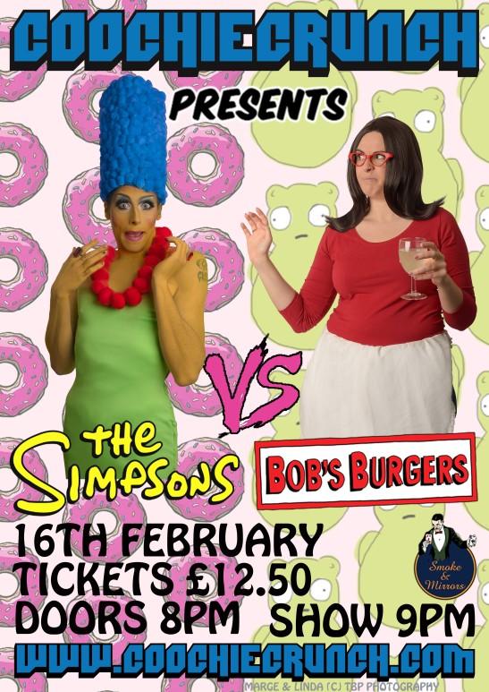 CoochieCrunch Simpsons Bobs Burger February 2018