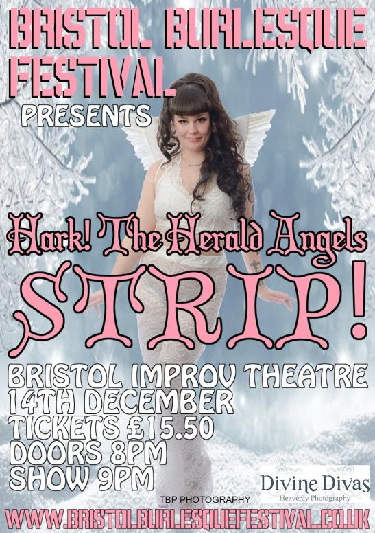 Bristol Burlesque Festival Christmas 2019